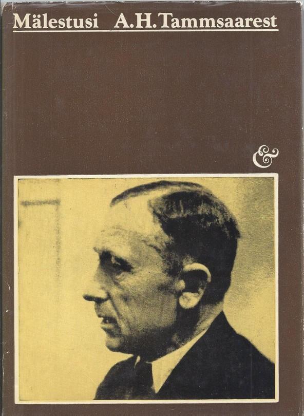 Mälestusi A. H. Tammsaarest