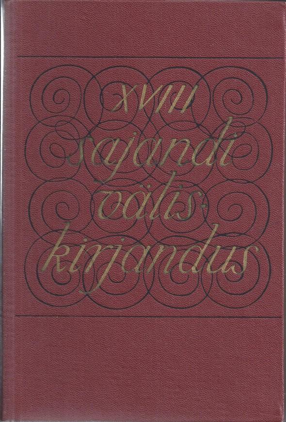 XVIII sajandi väliskirjandus