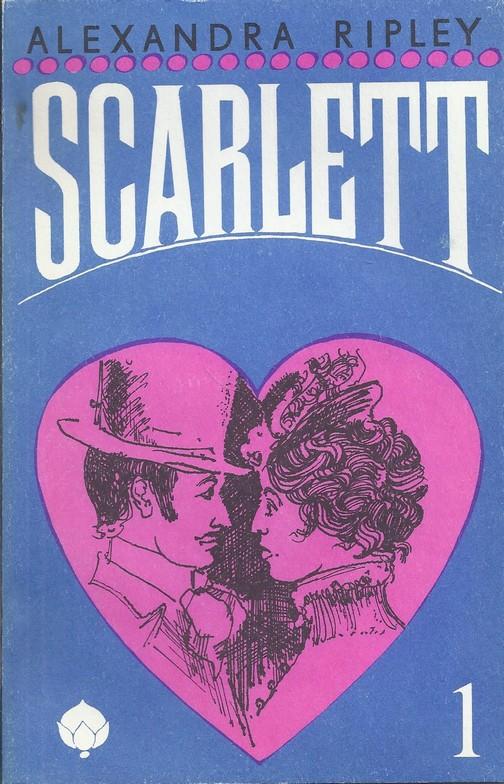 """""""Scarlett"""" I-IV osa. 4 raamatut"""