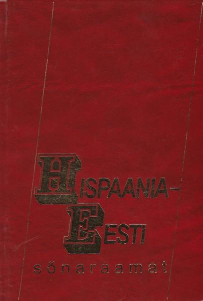 Hispaania-Eesti sõnaraamat ees