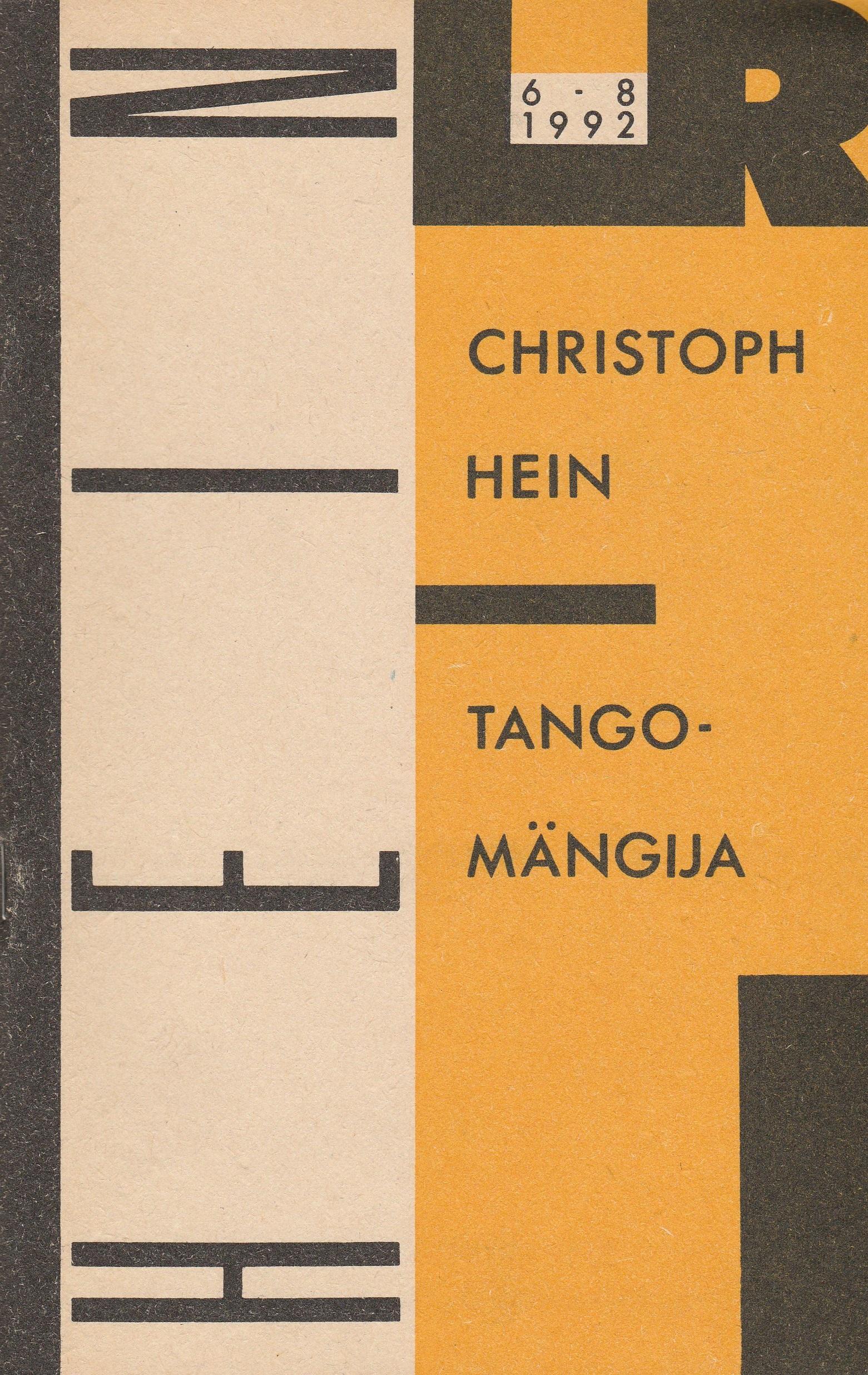 Tangomängija ees