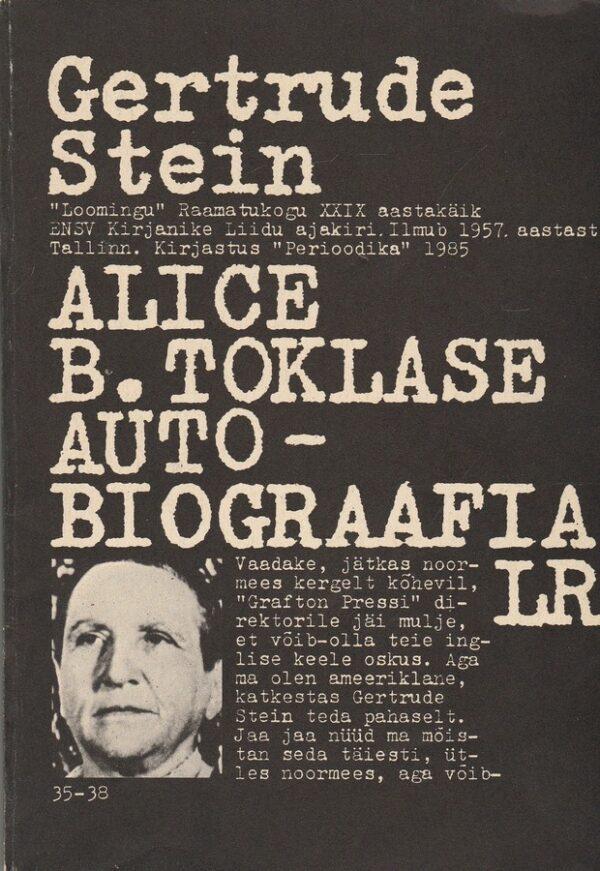 Alice B. Toklase autobiograafia