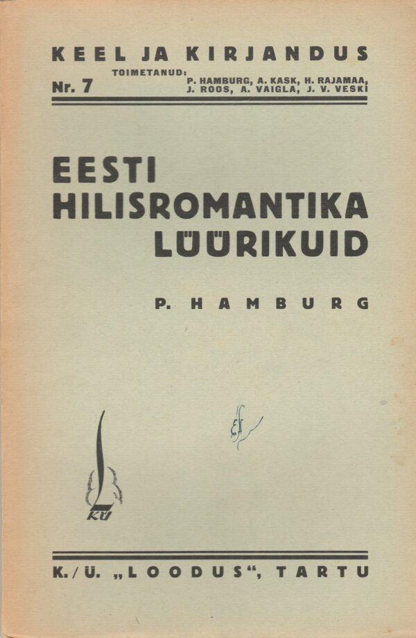 Eesti hilisromantika lüürikuid