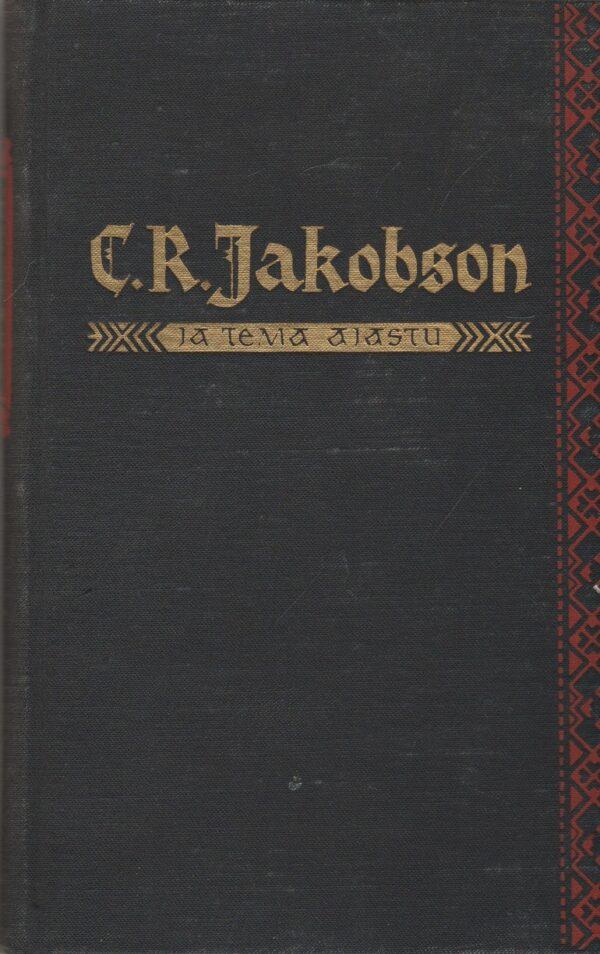 C.R. Jakobson ja tema ajastu